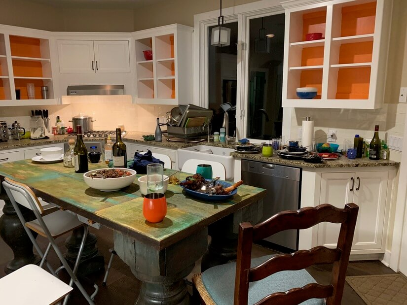 Kitchen with room to entertain