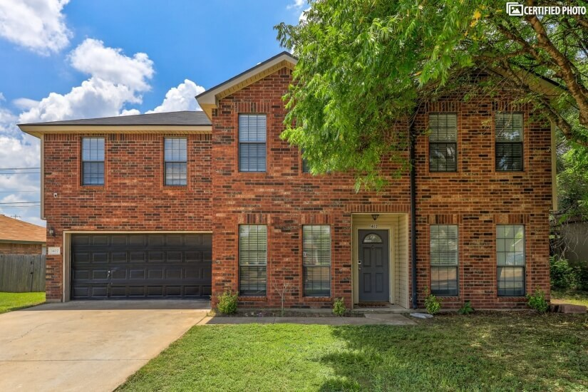 Furnished Rental Home w/Office Killeen