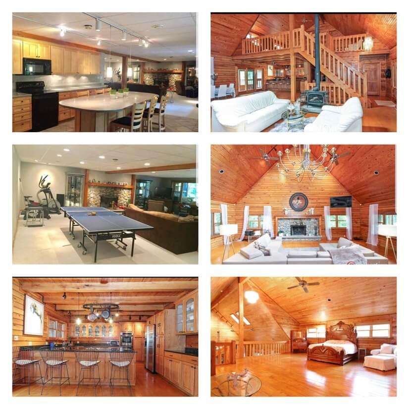 Chicago Lake Geneva Lodge 6500 sqft