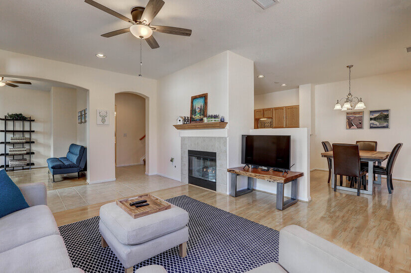 Furnished Highlands Ranch Home MTN Views