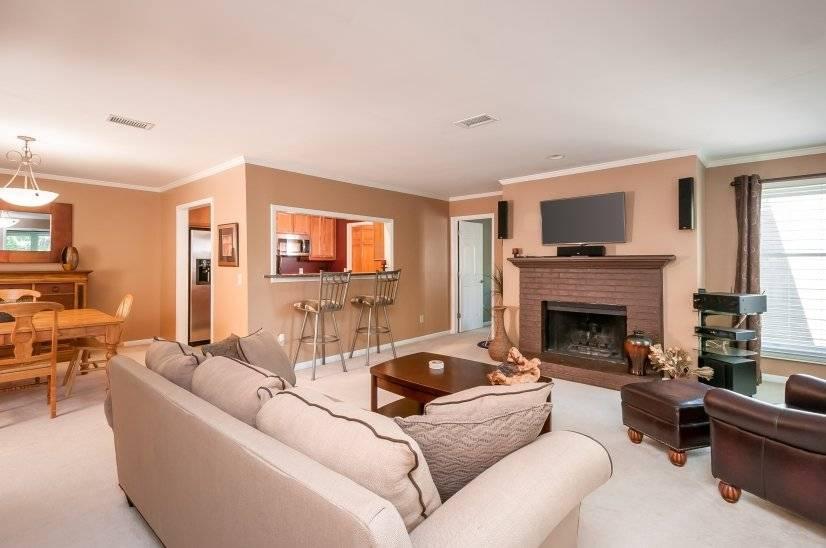 Corporate housing Living area