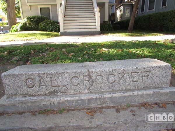 Historic marker 530 10th Street