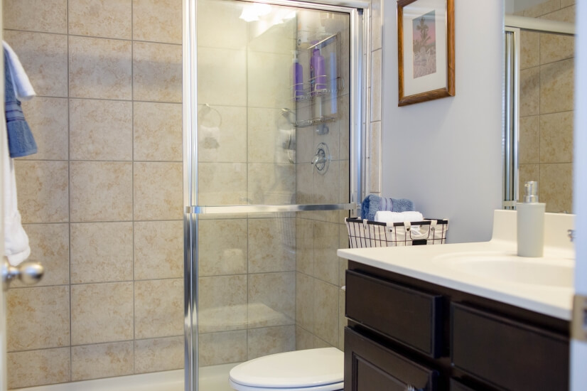Dedicated bathroom   Towels, amenities