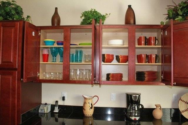 Kitchen fully stocked with everything you should require
