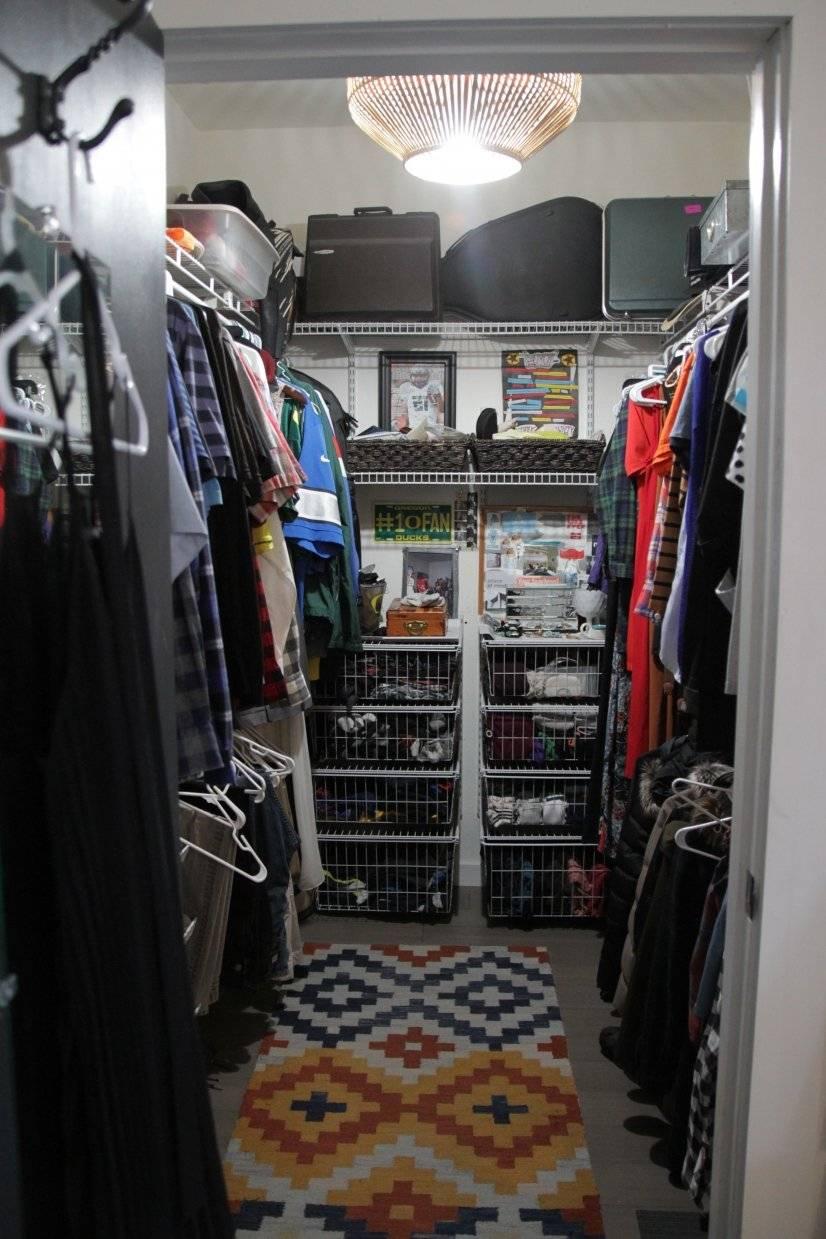 Upstairs Walk In Closet