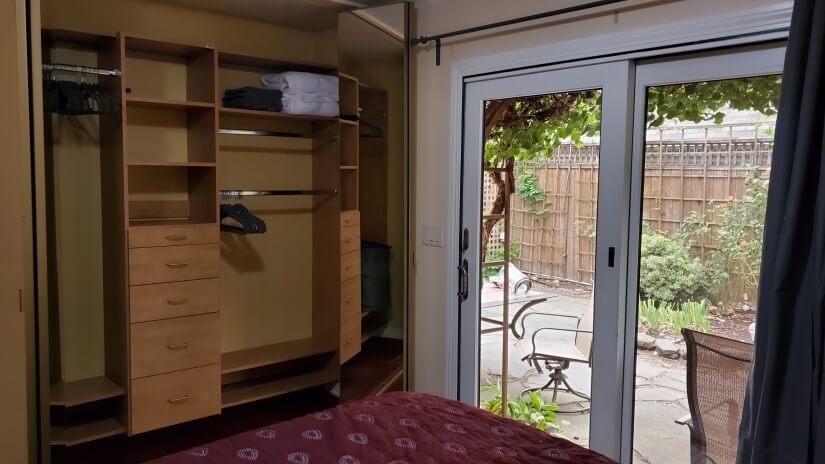 Custom Closet in 2nd Bedroom.