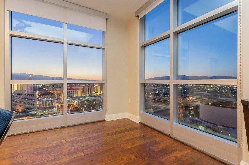 NW corner of unit with views