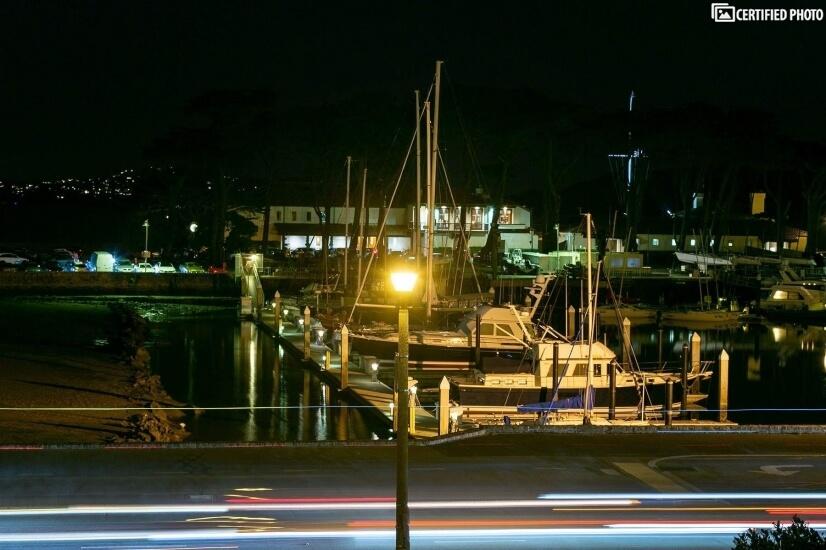 San Francisco  Marina at Night