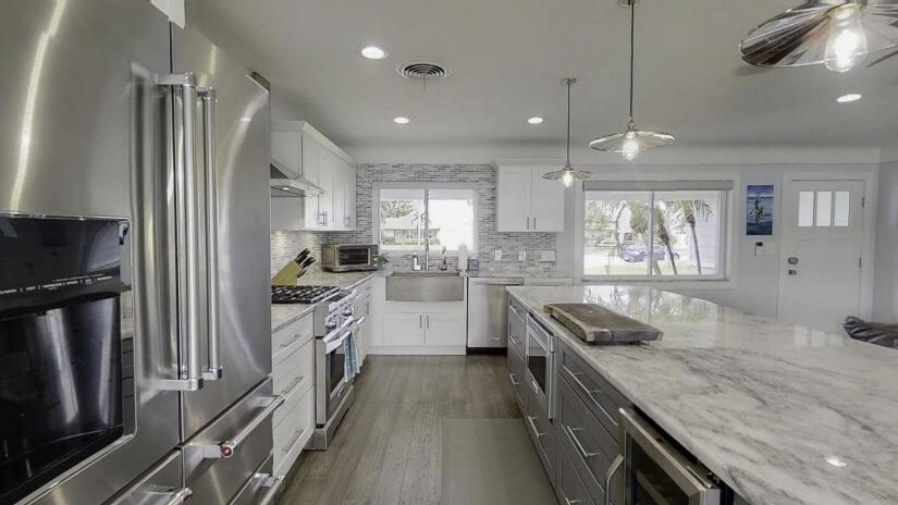 Kitchen with Kitchenaid Appliances