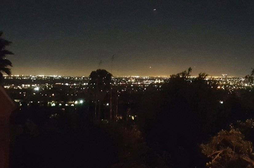 Night View From Deck