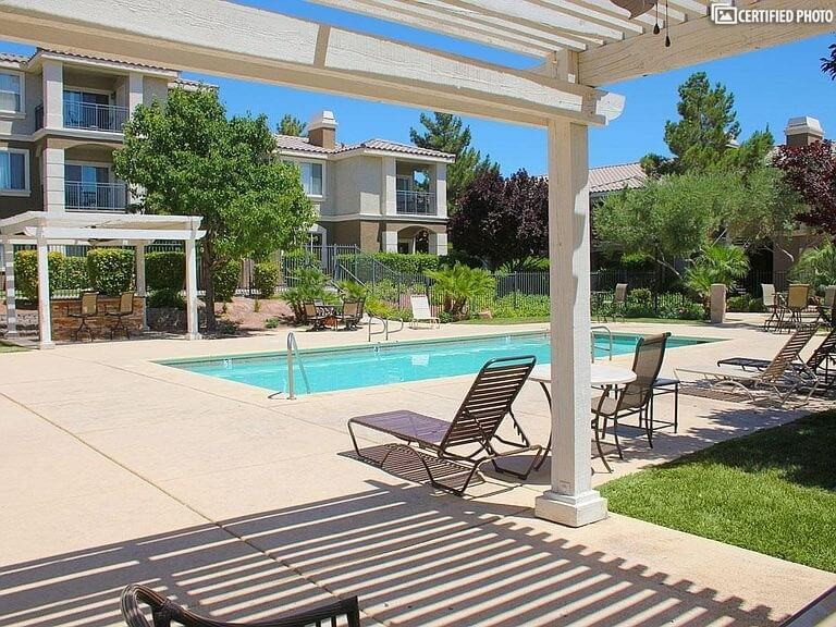 Large Pool only a Few Steps from your Door!