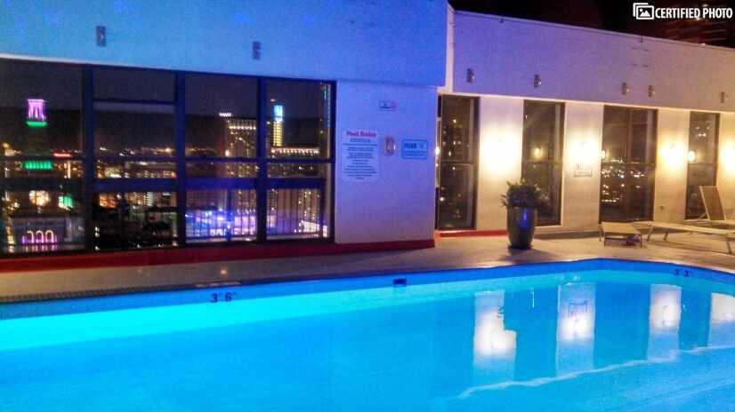 Barclay Rooftop Pool