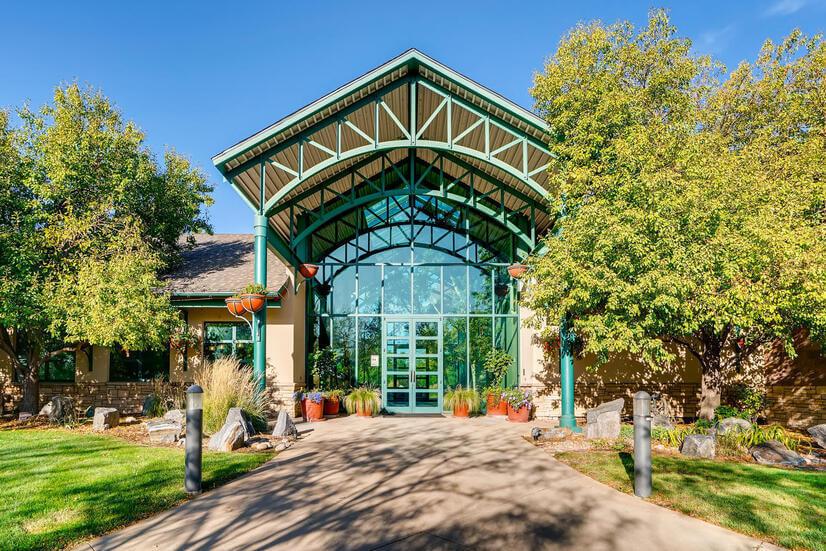 Entrance to the Colorado Club