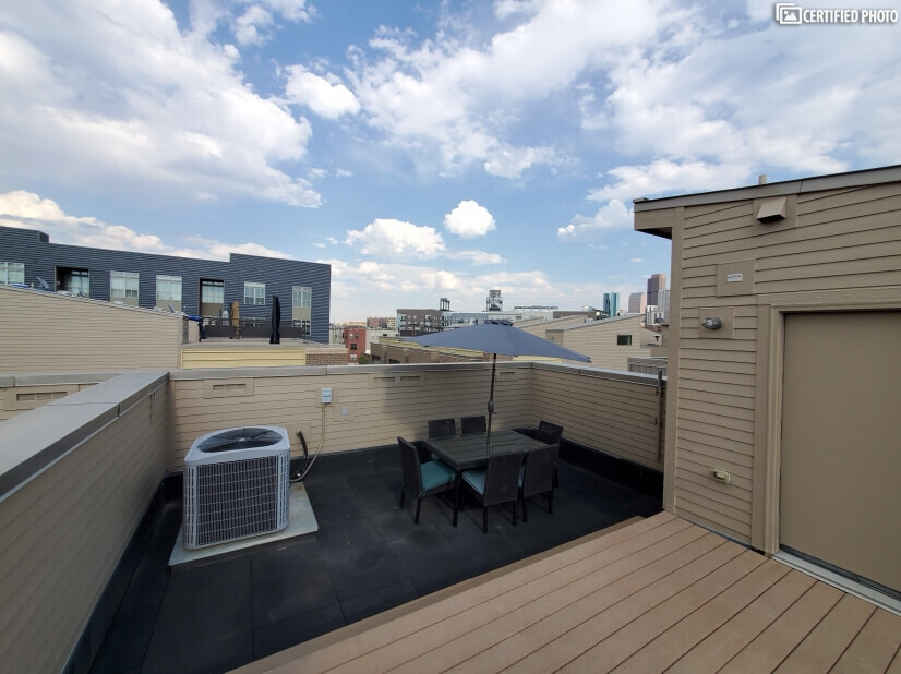 Sprawling Rooftop with Views of Coors Field