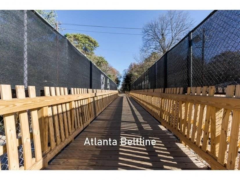 Beltline just behind home