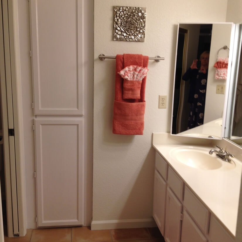 master bathroom (double sinks)