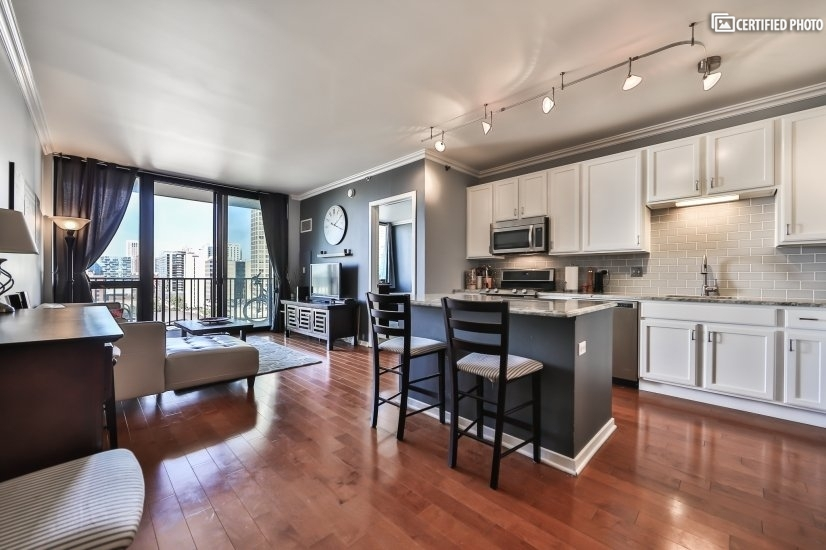 image 2 furnished 1 bedroom Townhouse for rent in West Loop, Downtown