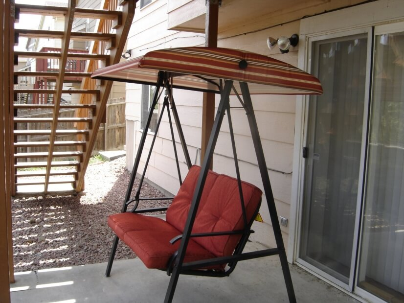 Backyard Swing for Relaxation