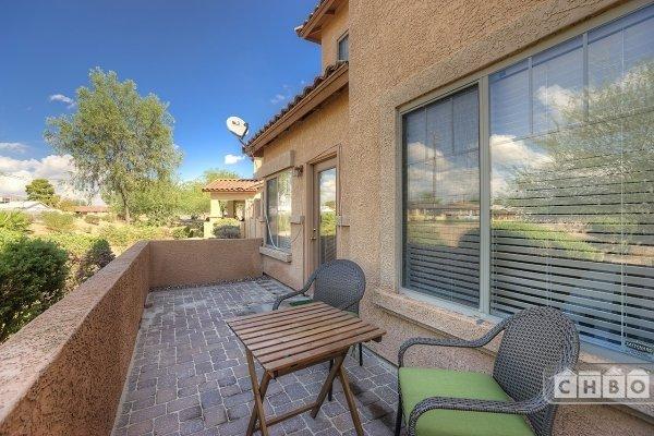 Outdoor Patio for relaxing in Arizona Sun