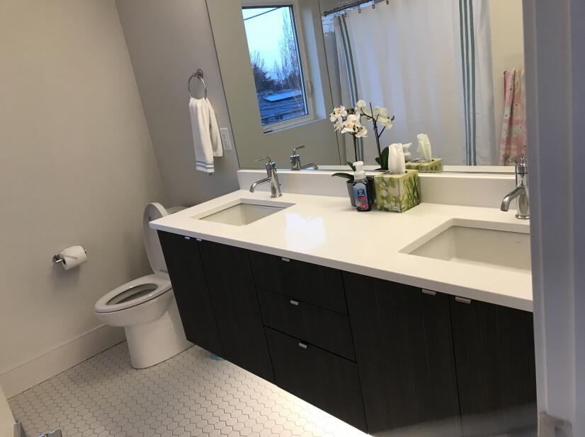 Full Bath with Dual Sink