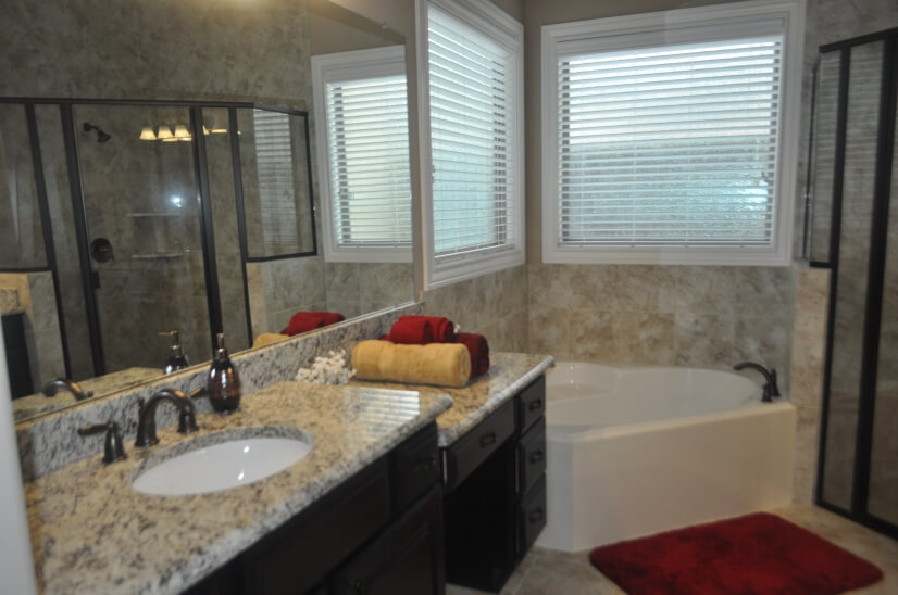 Master Bathroom  - including his/her sinks and vanity