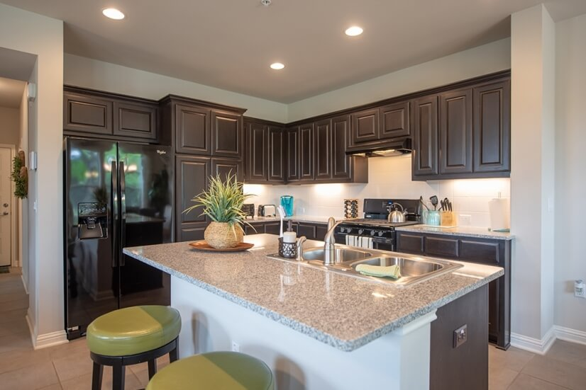 Open Concept Kitchen will all new appliances.