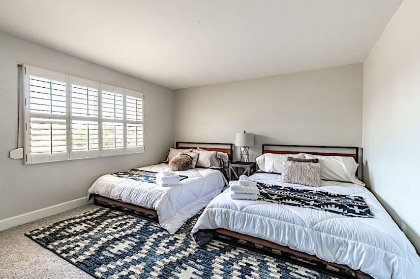 Bedroom #3 - Double Beds