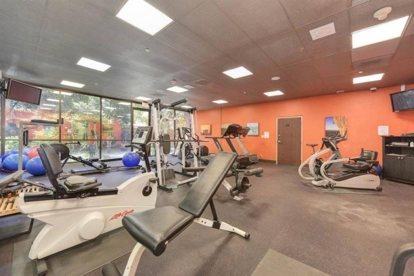 TVs in Fitness Area