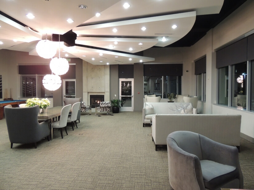 The Club Room with a pool room and room to entertain friends
