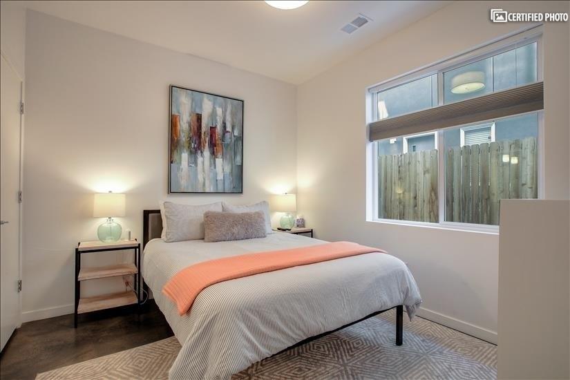 Bedroom 3 with en suite bathroom.