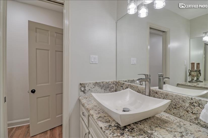 Master Bathroom - Single Sink