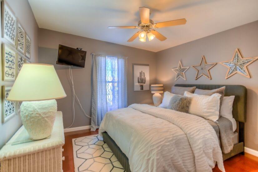 Hall Bedroom #2  SMART 32'inch TV