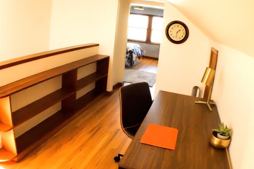 Office 1- 2nd floor- built ins