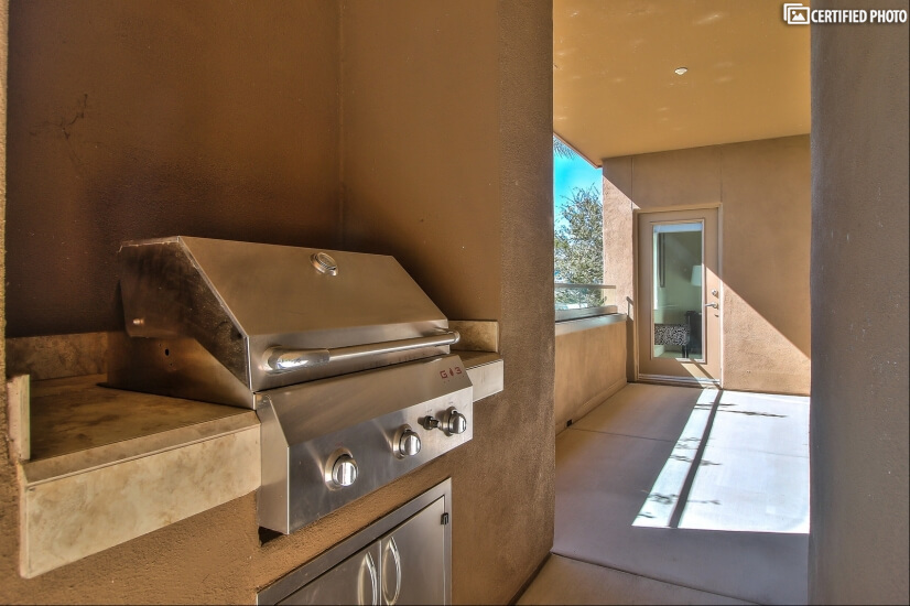 Exterior Gas Grill