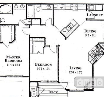 image 10 furnished 2 bedroom Townhouse for rent in Highpoint, Aurora