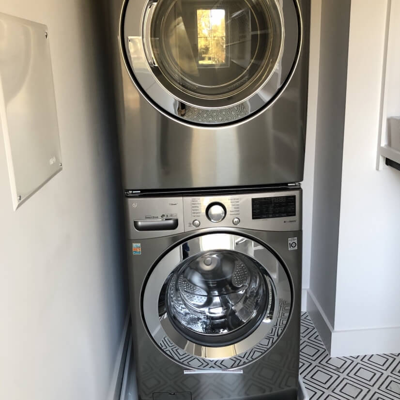 Full size LG Steam washer and dryer