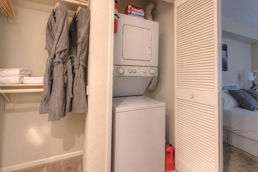 Washer/Dryer, iron board/iron in-unit