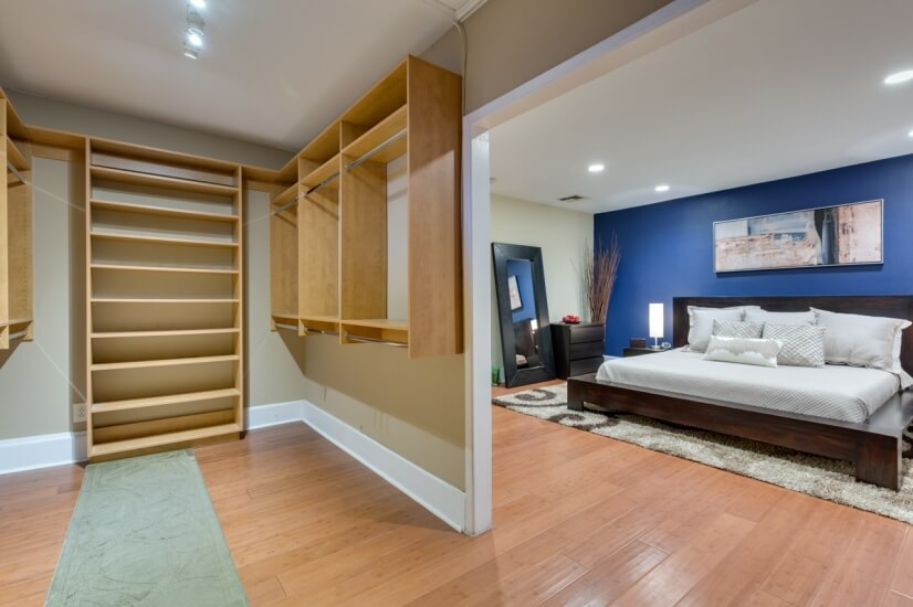 Walk In Closet and Master bedroom