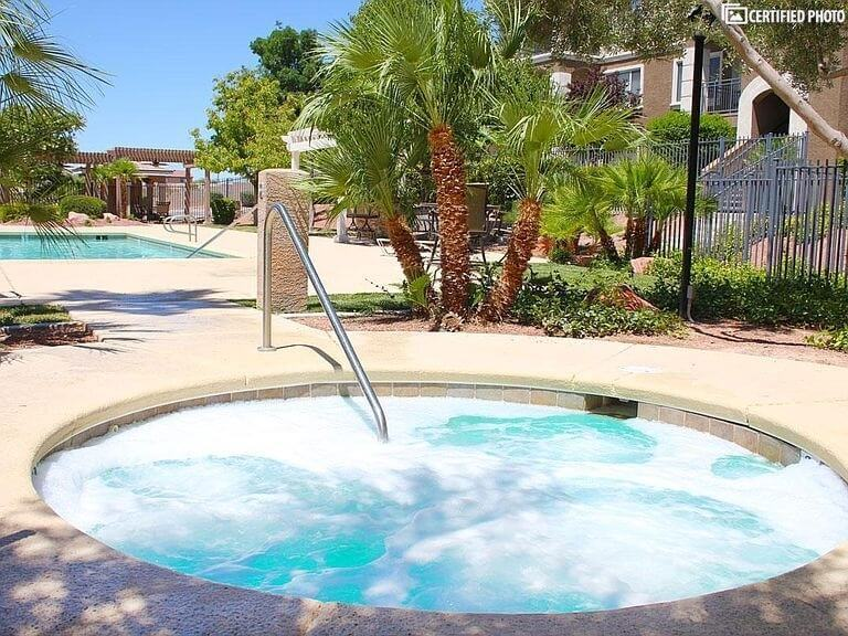 Jacuzzi at the Upper Pool