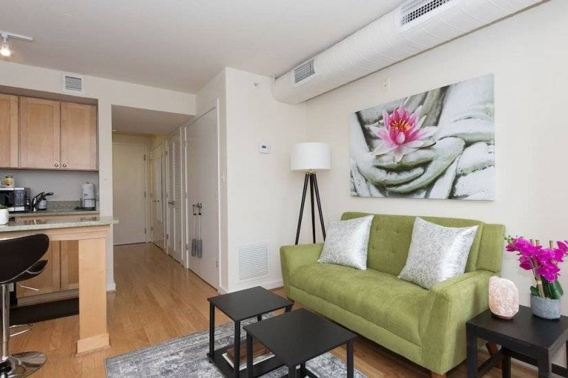 image 6 furnished Studio bedroom Apartment for rent in Bloomingdale, DC Metro