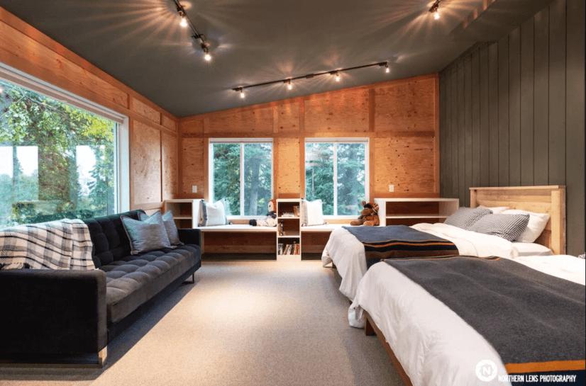 4th Bedroom. - 2 Queen Beds