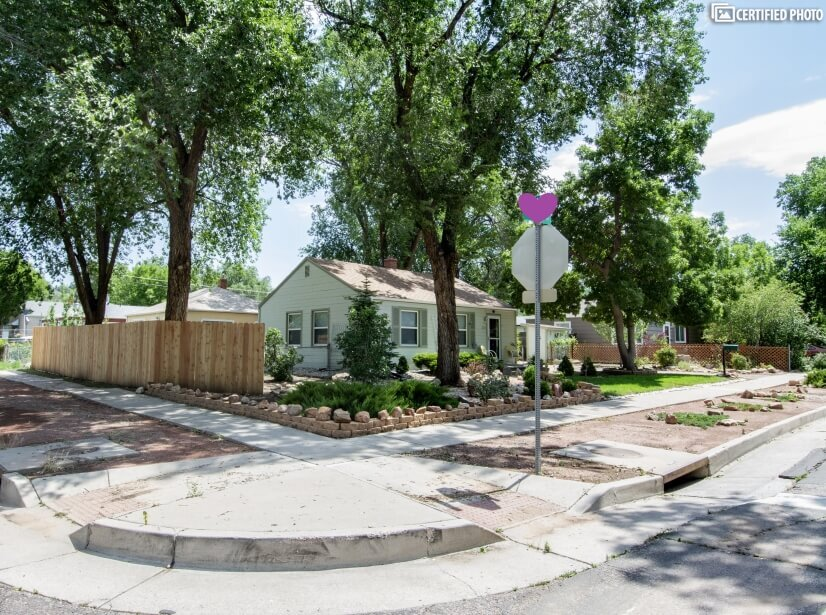 Wonderful Corner Lot with additional on-street Parking