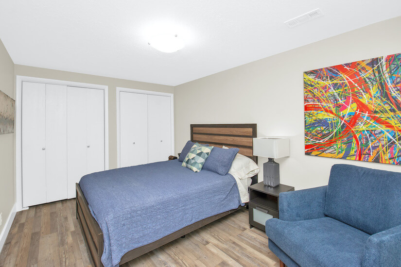 Bedroom #3 - Double closets