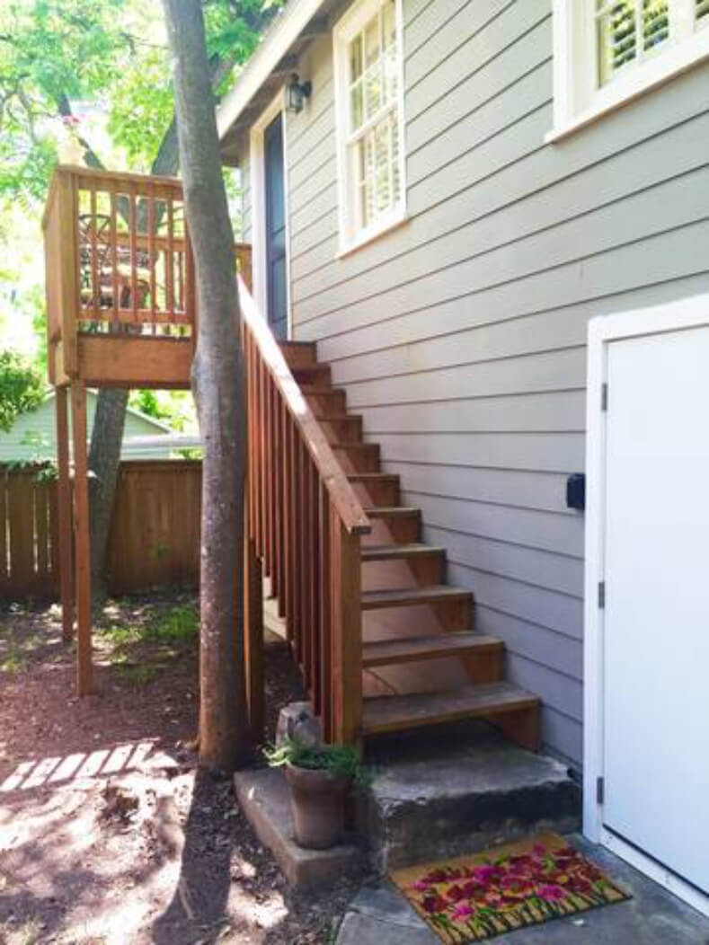 Your private fenced yard