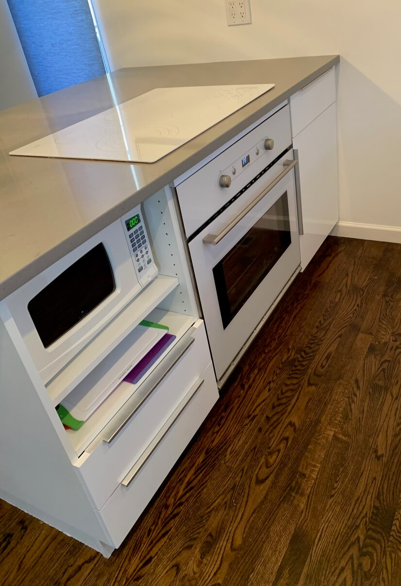 Stove/oven and microwave