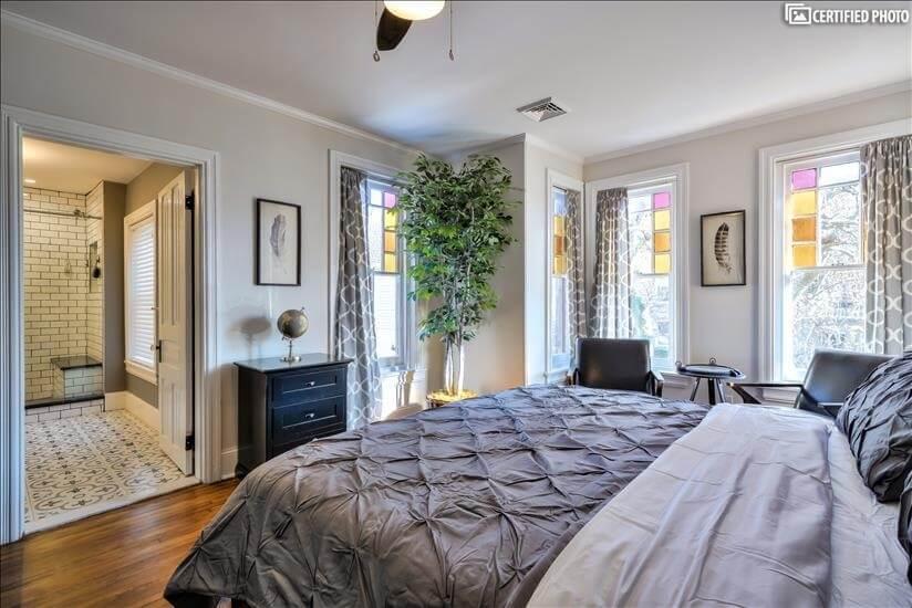 2nd Floor Master Bedroom Toward Master Bathroom (King)