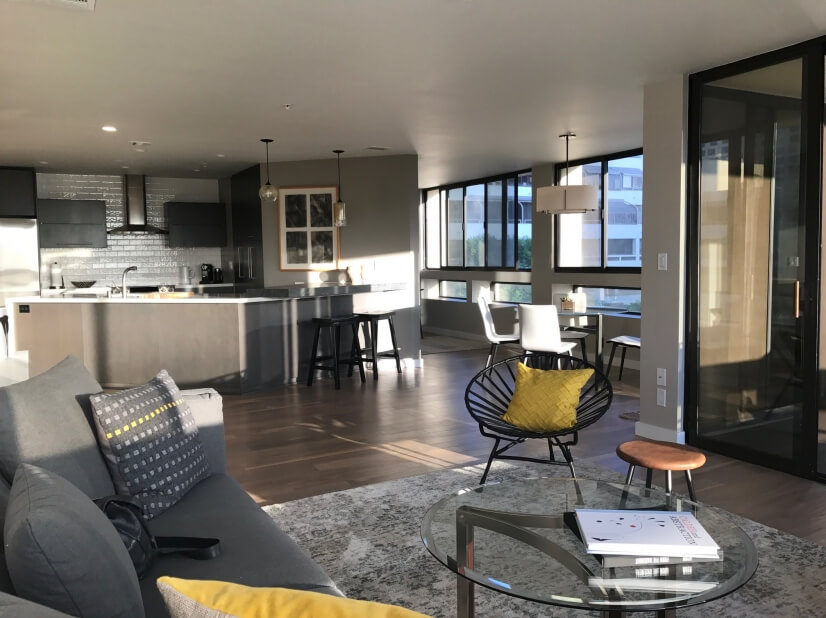 image 2 furnished 1 bedroom Townhouse for rent in Downtown, Metro Los Angeles