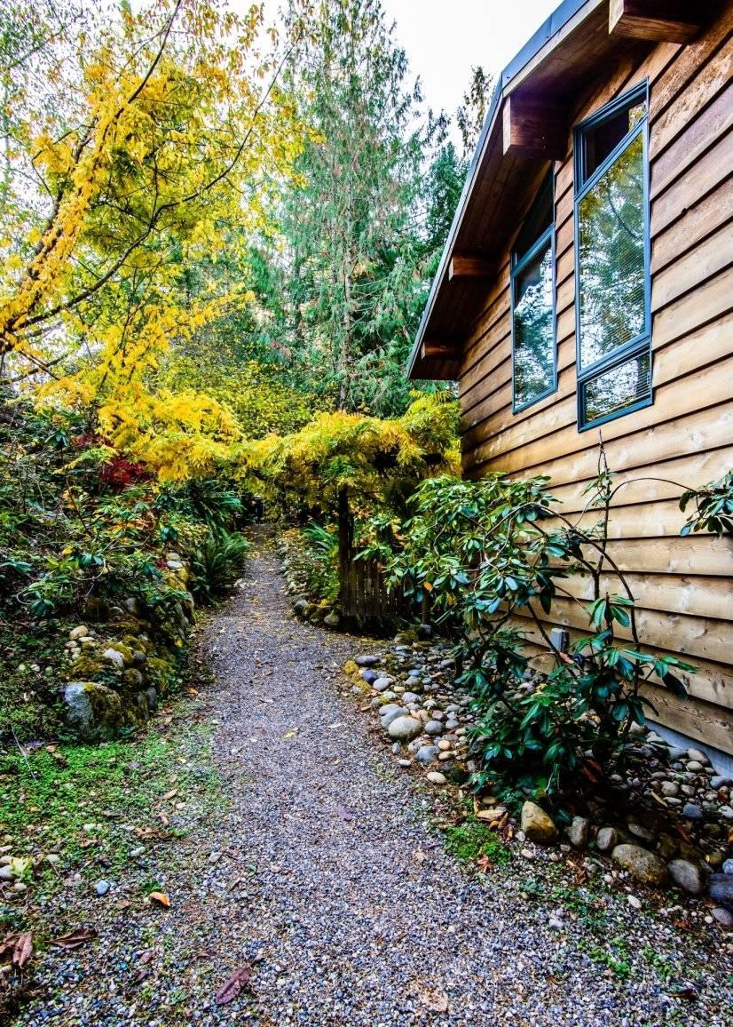 Path to door