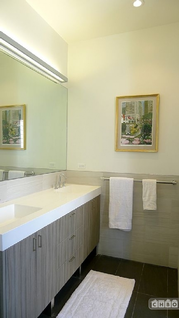 The bathrooms are newly renovated and beautiful!