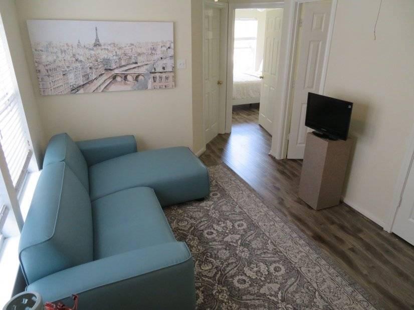 Loft-Hallway with DVR TV